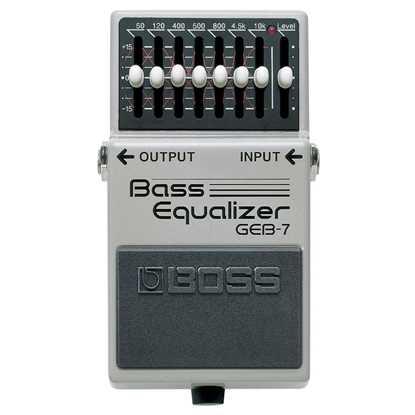BOSS GEB7 Bass Equalizer
