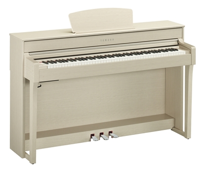 Yamaha CLP-635WA Vit Ask Digitalpiano
