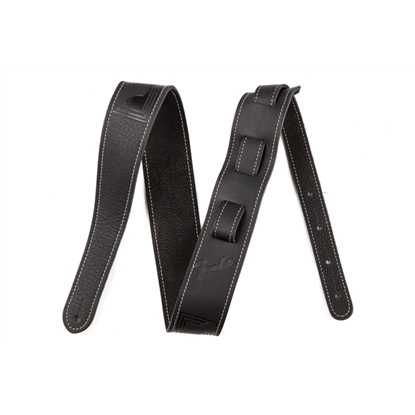 Fender Monogram Leather Strap Black