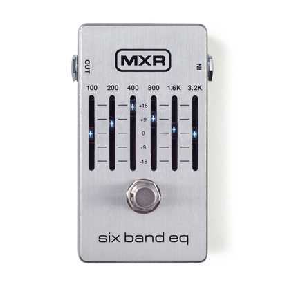 Jim Dunlop MXR® Six Band EQ M109S