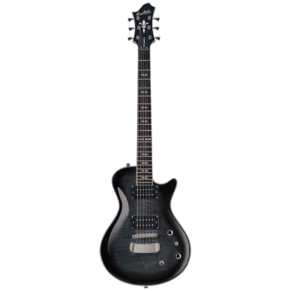 Hagström Ultra Swede Cosmic Black Burst