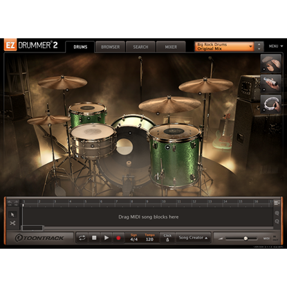 Toontrack EZX Big Rock Drums