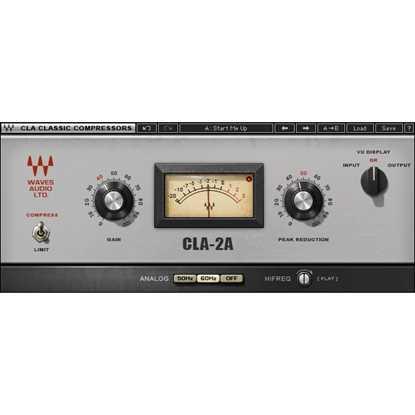 Waves CLA-2A Compressor/Limiter