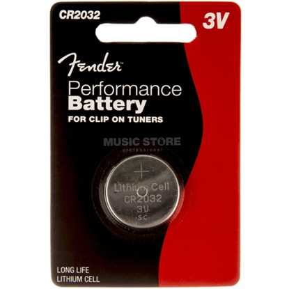Fender Performance Battery CR2032