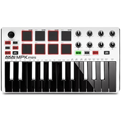 Akai MPK Mini mk2 White Limited Edition