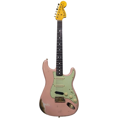 Fender Custom Shop Stratocaster® 69 Heavy Relic Shell Pink