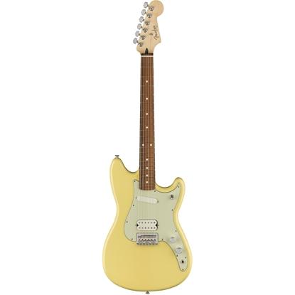 Fender Duo-Sonic™ HS Pau Ferro Fingerboard Canary Diamond