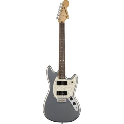 Fender Mustang® 90 Pau Ferro Fingerboard Silver
