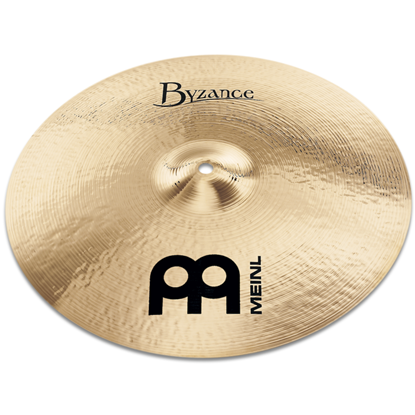 "Meinl 18"" Byzance Brilliant Medium Crash"