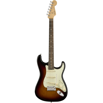 Fender American Elite Stratocaster® Ebony Fingerboard 3-Color Sunburst