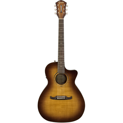 Fender FA-345CE Auditorium 3-Tone Tea Burst