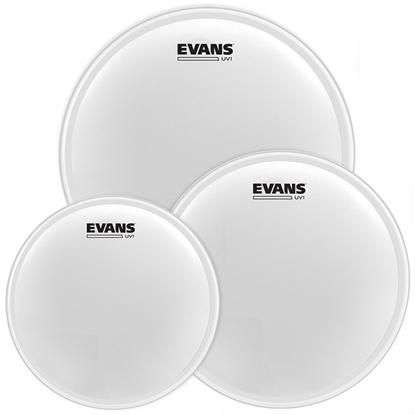 Evans UV1 Coated Tom Pack Standard