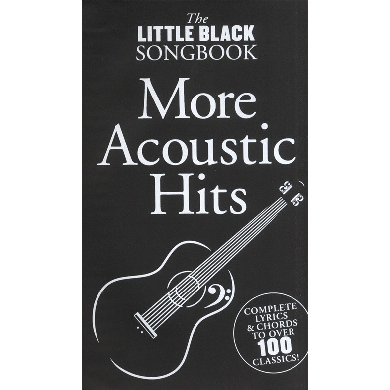 The Little Black Songbook: More Acoustic Hits   Andreasson