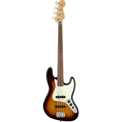 Fender Player Jazz Bass® Fretless Pau Ferro Fingerboard 3-Color Sunburst
