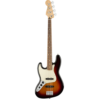 Fender Player Jazz Bass® Left-Hand Pau Ferro Fingerboard 3-Color Sunburst