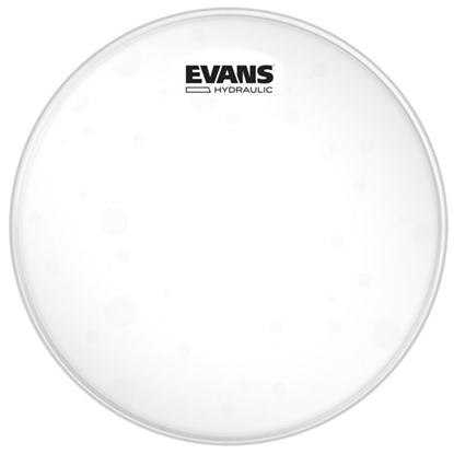 Evans Hydraulic Glass Clear Snare/Tom/Timbale 13""