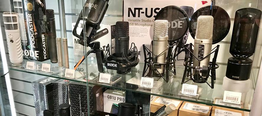 Hitta rätt mikrofon till din studio