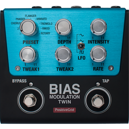 Positive Grid BIAS Modulation Twin