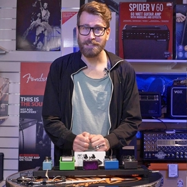Gustav tipsar dig om hur du bygger ditt eget pedalbord