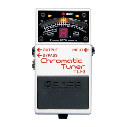 Bild på BOSS TU3 Chromatic Tuner