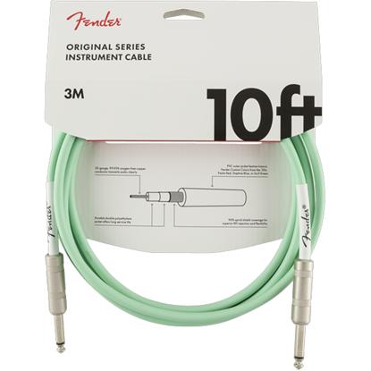 Fender Original Series Instrument Cable 10' Surf Green