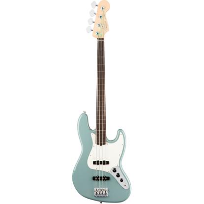 Fender American Professional Jazz Bass® Fretless Rosewood Fingerboard Sonic Gray