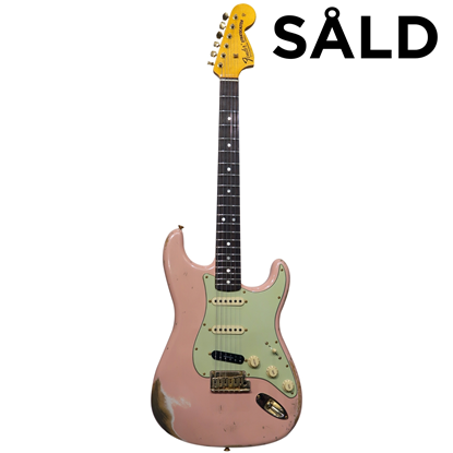 Fender Custom Shop Stratocaster® 1969 Heavy Relic Shell Pink