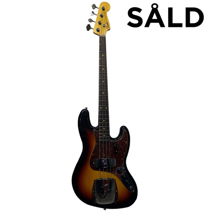 Fender Custom Shop Jazz Bass® 1964 Journeyman Relic 3-Color Sunburst