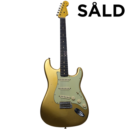 Fender Custom Shop Stratocaster® 1960 Journeyman Relic HLE Gold