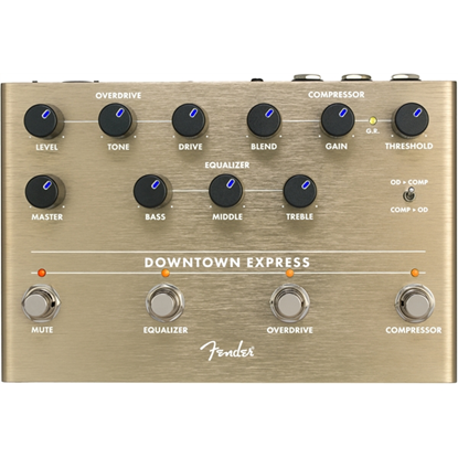 Fender Downtown Express Bass Multi-Effect Pedal