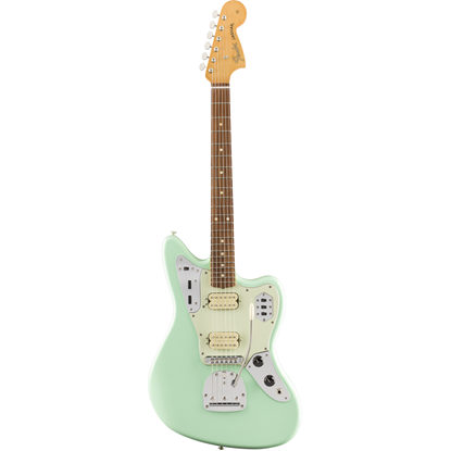 Fender Vintera '60s Jaguar Modified HH Pau Ferro Fingerboard Surf Green