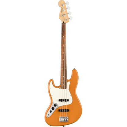 Fender Player Jazz Bass® Left-Hand Pau Ferro Fingerboard Capri Orange