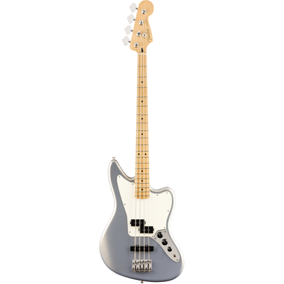 Fender Player Jaguar® Bass Maple Fingerboard Silver