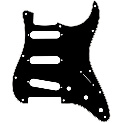 Fender 11-Hole Modern-Style Stratocaster® S/S/S Pickguard