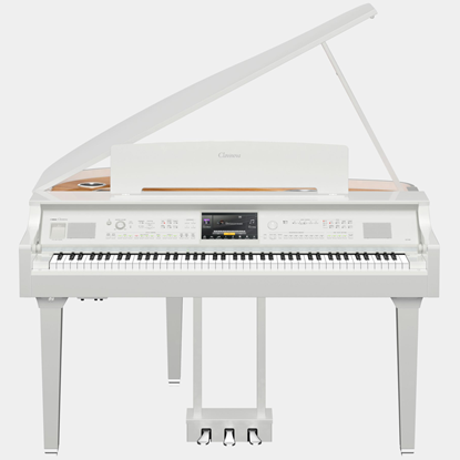 Yamaha CVP-809GP Polished White Digitalflygel