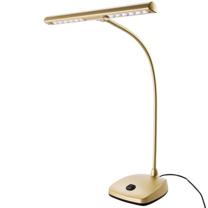 K&M 12297 LED Pianolampa Guld