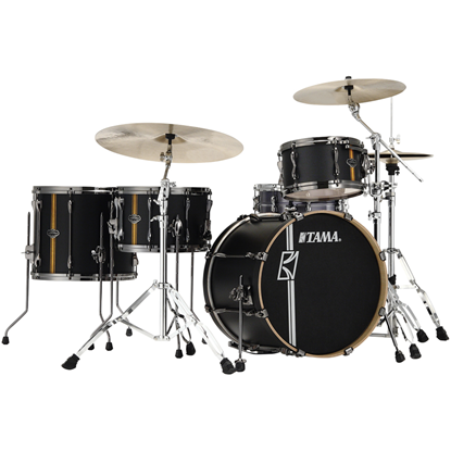 Tama Superstar Hyper-Drive Duo ML40HZBN2 Flat Black Vertical Stripe