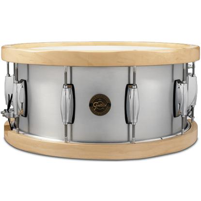 Gretsch Wood Hoop Aluminium Snare