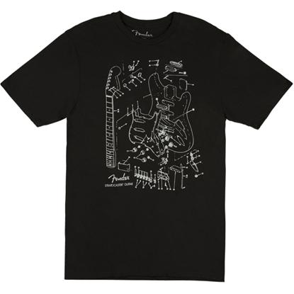 Fender Stratocaster Patent Men's T-shirt