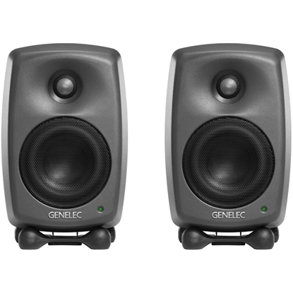 Genelec 8320 Dark Grey SAM Kit Studiomonitor