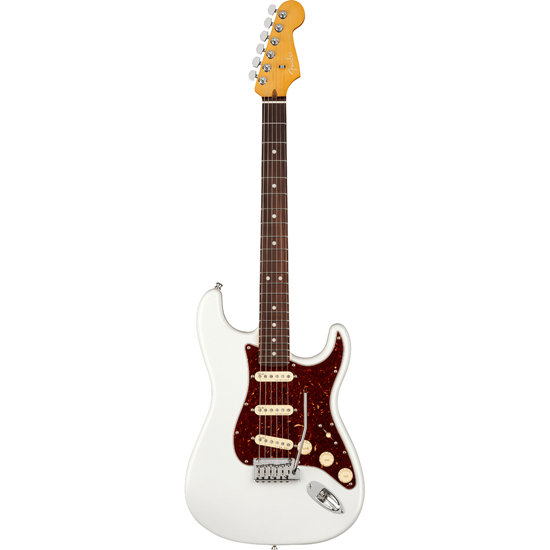 Fender American Ultra Stratocaster® Rosewood Fingerboard Arctic Pearl