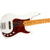 Fender American Ultra Precision Bass® Maple Fingerboard Arctic Pearl