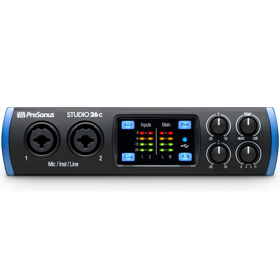Presonus Studio 26c USB-C Audio Interface