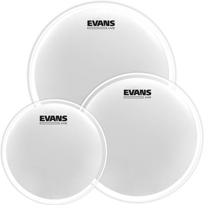 Evans UV2 Coated Tom Pack Rock