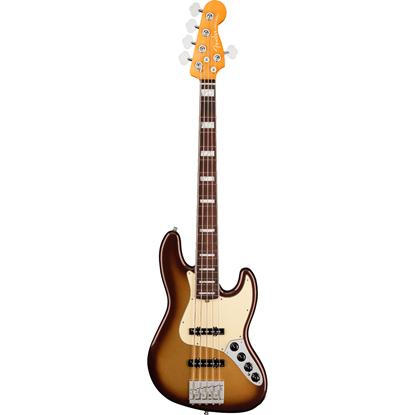 Fender American Ultra Jazz Bass® V Rosewood Fingerboard Mocha Burst