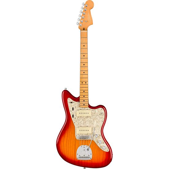 Fender American Ultra Jazzmaster® Maple Fingerboard Plasma Red Burst