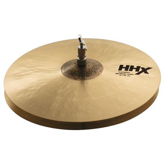 """Sabian 15"""" HHX Complex Medium Hats"""