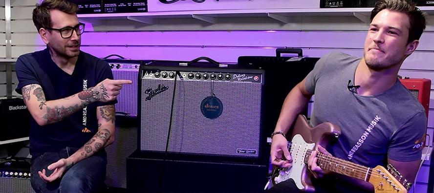 Fender Deluxe Reverb Tone Master – digital gitarrförstärkare