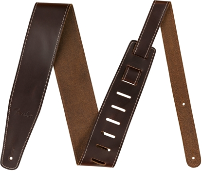 Fender Broken-In Leather Strap Brown