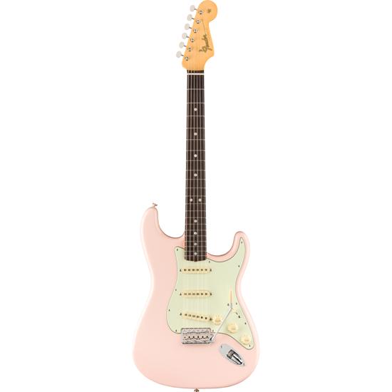 Fender American Original '60s Stratocaster® Rosewood Fingerboard Shell Pink